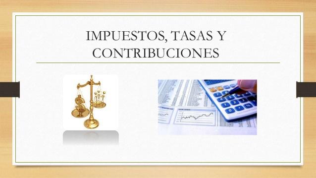Impuestos, tasas y contribuciones: Aprende a diferenciarlas